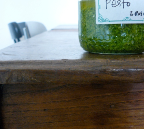 pesto-on-table