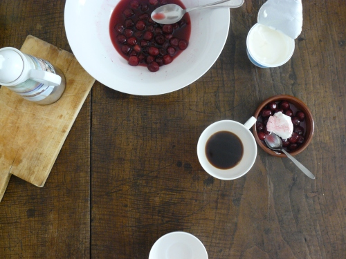 cherries for breakfast