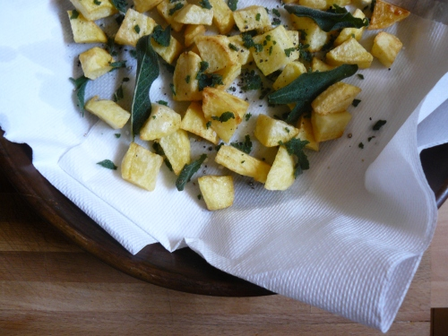 fried potatoes with sage 1