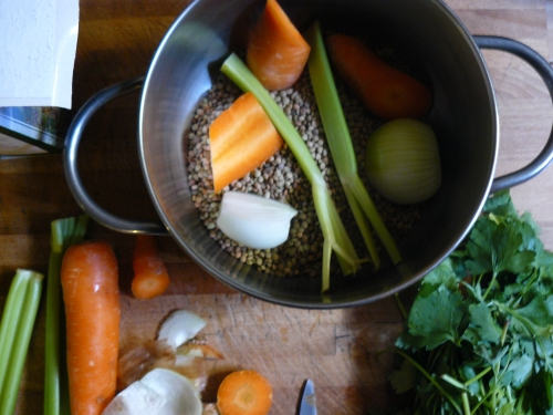 lentils for ALT